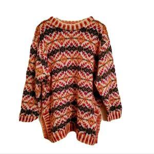 Jones New York Sport Pattern Sweater Size 2X